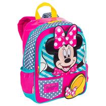 Mochila Infantil Escolar Menina Costas Minnie 16y 64044 M