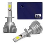 Par Lampadas Super Led H1 6000k Super Branca 6400 Lúmens