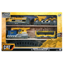 Trem Motorizado Cat Iron Diesel Train Dtc Caterpillar Luzes