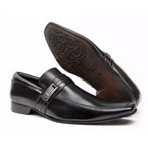 Sapato Social Couro Legítimo Solado Couro Ref. 51319