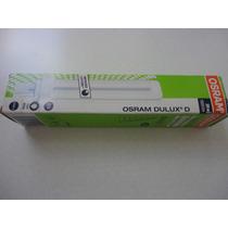 Lampada Osram Dulux D 26w 2 Pinos Compacta Branco Frio