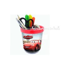 20 Porta Lápis Personalizada Carros Aniversário