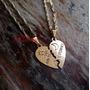 Colar De Coração Amor Eterno Presente Namoro Dourada