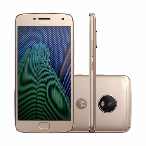 Celular Moto G5 Plus Dual Chip Android 7.0 32gb 4g Dourado