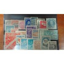 Cartela Selos Antigos Do Brasil R$30,00+frete