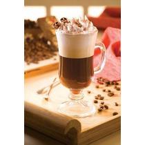 Taça De Vidro Xicara Para Café Capuccino 120 Ml 1 Pç