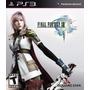 Final Fantasy Xiii. Ff 13 Mídia Física Ps3 Lacrado