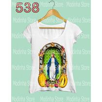 Nossa Senhora Das Graças Tshirt Blusa Feminina Camiseta Fé