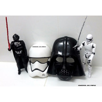 Darth Vader E Stormtrooper Com Máscaras - Star Wars 24 Cm