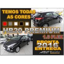 Hb20 Premium 1.6 Flex Automatico 16/16 Pronta Entrega G023