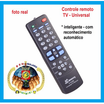 Controle Remoto Tv Universal Inteligente Original Sony Top