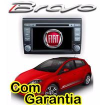 Central Multimidia Fiat Bravo Gps Dvd Phonelink Cam Ré Tv Bt