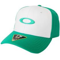 Boné Oakley Tincan Cap Verde Com Branco Lançamento - S/m