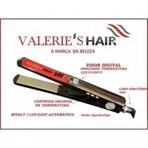 Chapinha Prancha Nano Titanio Valeries Hair Vh 3060 Até 450º