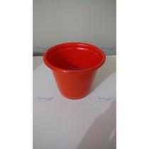 Vasinhos Para Enfeites De Jardins, Em Aluminio, Color 1 Und.