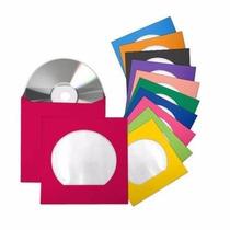 100 Envelopes De Papel Coloridos - 20 De Cada Cor A Escolher