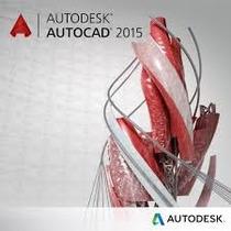 Autcad 2015 32 & 64 Bits Inglês+port Por Email/downl + Curso