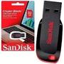 Pen Drive Sandisk Cruzer Blade 32gb 100% Original Lacrado!