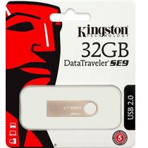 Pen Drive 2.0 32gb Kingston Dtse9 Aproveite Compre Últimos