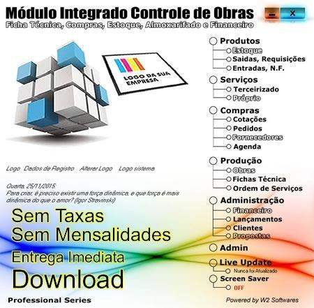 Software Controle De Obras Compras Financeiro E Estoque 87cdd8b064