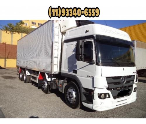 MB ATEGO 2426 6X2 C/ BAÚ FRIGORIFICO 2015