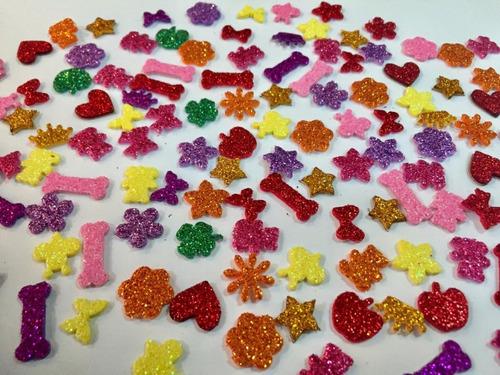 420 Adesivos Pet Femea De Eva Com Glitter Pronta Entrega