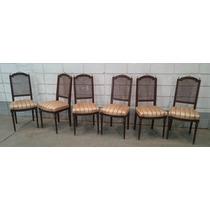 Conjunto De Cadeiras Estilo Clássico Antigo Luis Xvi