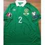 Camisa Irlanda Coleman #2 Vs. Alemanha Eliminatórias Euro