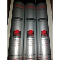 Hair Spray Allwaves Kit Com 3 Frascos De 750 Ml 25,36 Fl.oz.