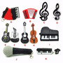 Pendrive 4gb -instrumentos Musicais Modelo Flash