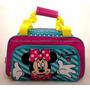 Mala De Mão Grande Infantil Minnie Mouse Original Sestini