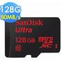 Cartão Memória Sandisk Micro Sdxc Ultra 80mb/s 128gb Sd Sdhc