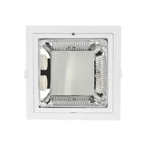 Luminaria De Embutir 2 Lampadas B-8017 Quadrada Blan