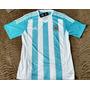 Conjunto Camisa + Short Argentina Listrado Frete Grátis