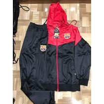 Agasalho Do Barcelona Blusa E Calça Vermelho Preto Conjunto à venda ... 1df21fef91365