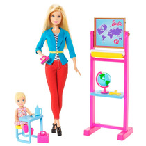 Barbie - Professora Quero Ser + Acessórios - Mattel Ccp69