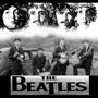 Quadro Beatles Impressão Digital 30x30 Cm Preto/branco -