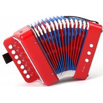 Acordeon Sanfona Gaita Infantil Musical Nfiscal E Garantia