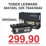 Toner Lexmark 64418xl 32k Original T644/x644 Só R$ 299.90!
