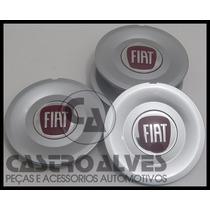 Jg Calotas Tampa Roda Fiat Stilo Aro 16 Wolverine - 4 Pçs