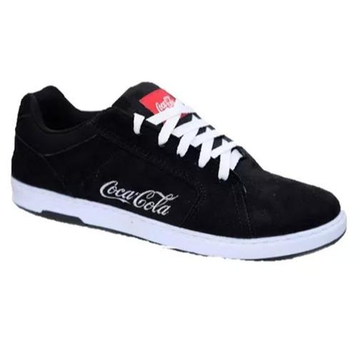 cbd4e01b8b1ac Tênis Masculino Coca Cola Bordado Lançamento Frete Grátis