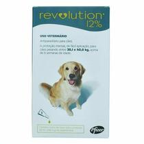 Anti Pulgas Revolution Para Cães 20 A 40 Kg 3 Pipetas