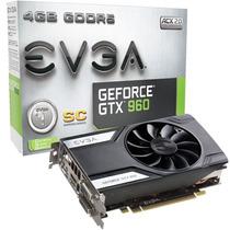 Geforce Evga Gtx 960 4gb Superclock Gaming Ddr5 128bits
