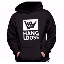 Moletom Masculino Hang Loose -com Capuz -blusa De Frio