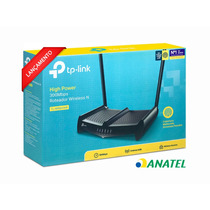 Roteador Wireless Quebra Parede Tl Wr 841hp 1000mw V5