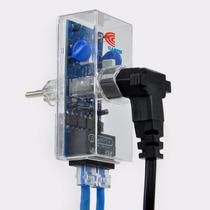 Dps Clamper Contra Surtos Elétricos Raios Rede Rj45
