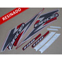 Kit Adesivos Nxr150 Esd Bros 2006 Vermelha - Resinado Decalx