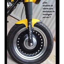 Paralama Para Dianteiro Harley Davidson Fat Boy Fatboy 40cm