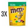 Kit 3 Amendoim Chocolate Mms 148g Mars Coeti Colorido Original