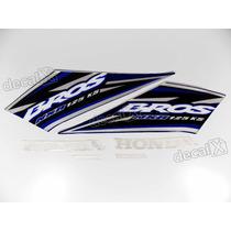 Kit Adesivos Nxr125 Ks Bros 2005 Azul - Resinado - Decalx